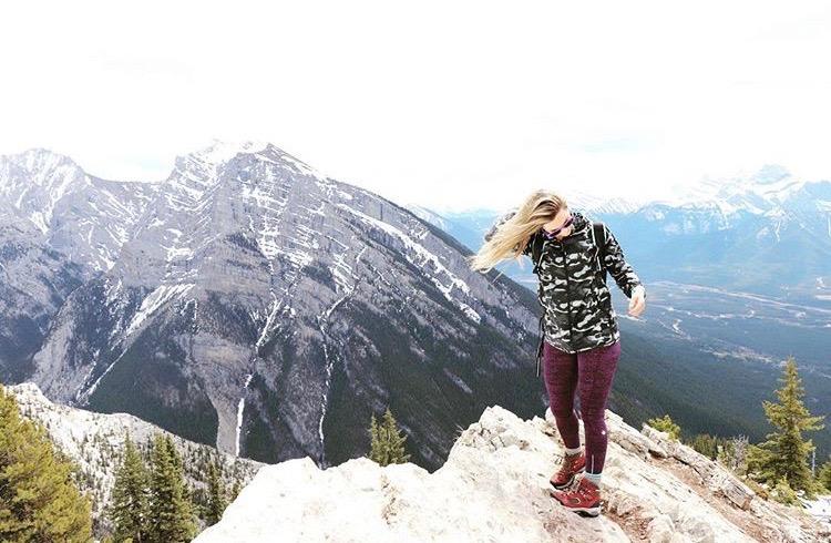 Lady MacDonald Tea House Trail Hike Alberta Canada